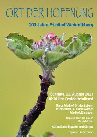 200 Jahre Friedhof Wickrathberg
