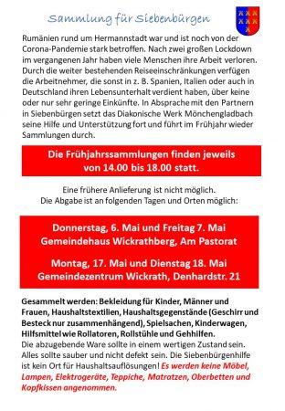 Siebenbürgen-Sammlung 2021