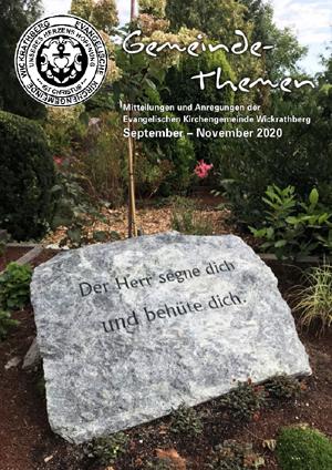 Gemeindethemen September 2020