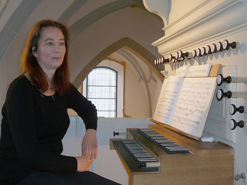 Nelli Kehl-Lanskoi Organistin in Wickrathberg